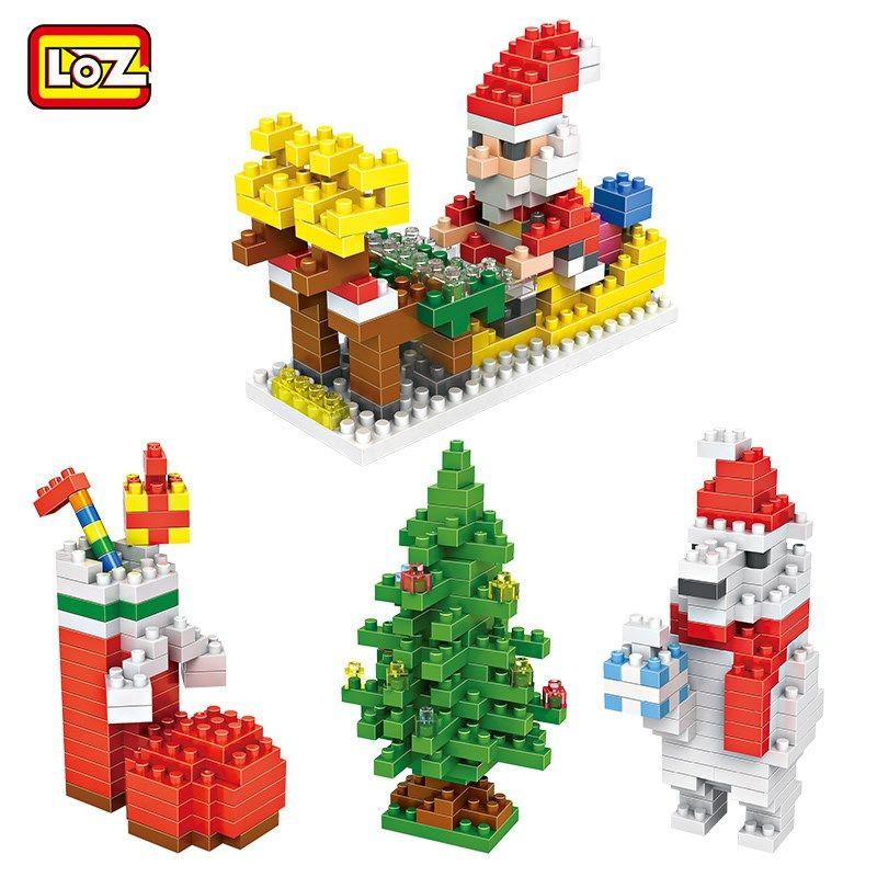 圣诞活动 | 暖心礼物LOZ积木套装免费送!