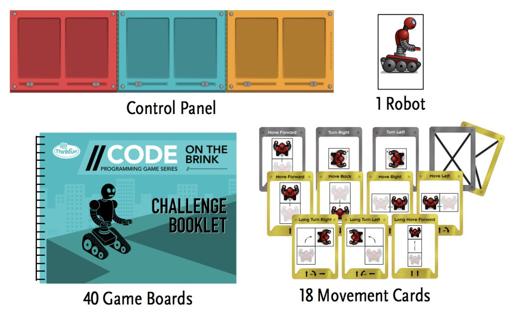 盘点了百款桌游,这5套亲子编程桌游get计算思维