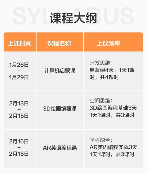 元旦大促 | 10天寒假编程训练营原价¥807限时1.5折抢!最好的新年礼物!