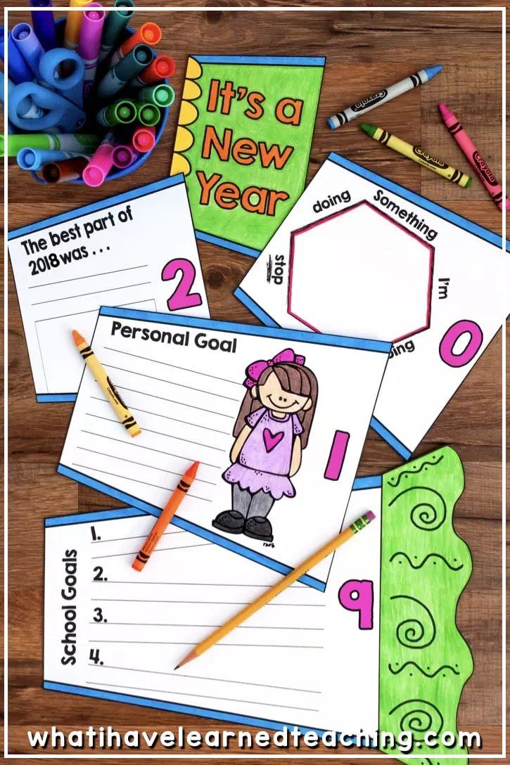 如何和孩子一起制定新年计划?这些模板让目标更容易实现!