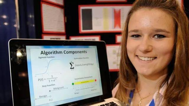 因为热爱,17岁女孩利用人工智能,将癌症预测准确率提高到99.11%!