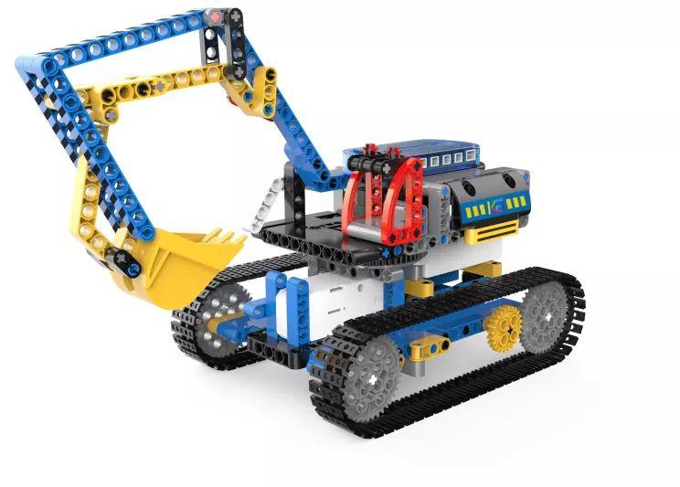 返团 | 首发1000套光速抢空!工程车系列4合1电动遥控积木,论性价比、可玩性,它是NO.1