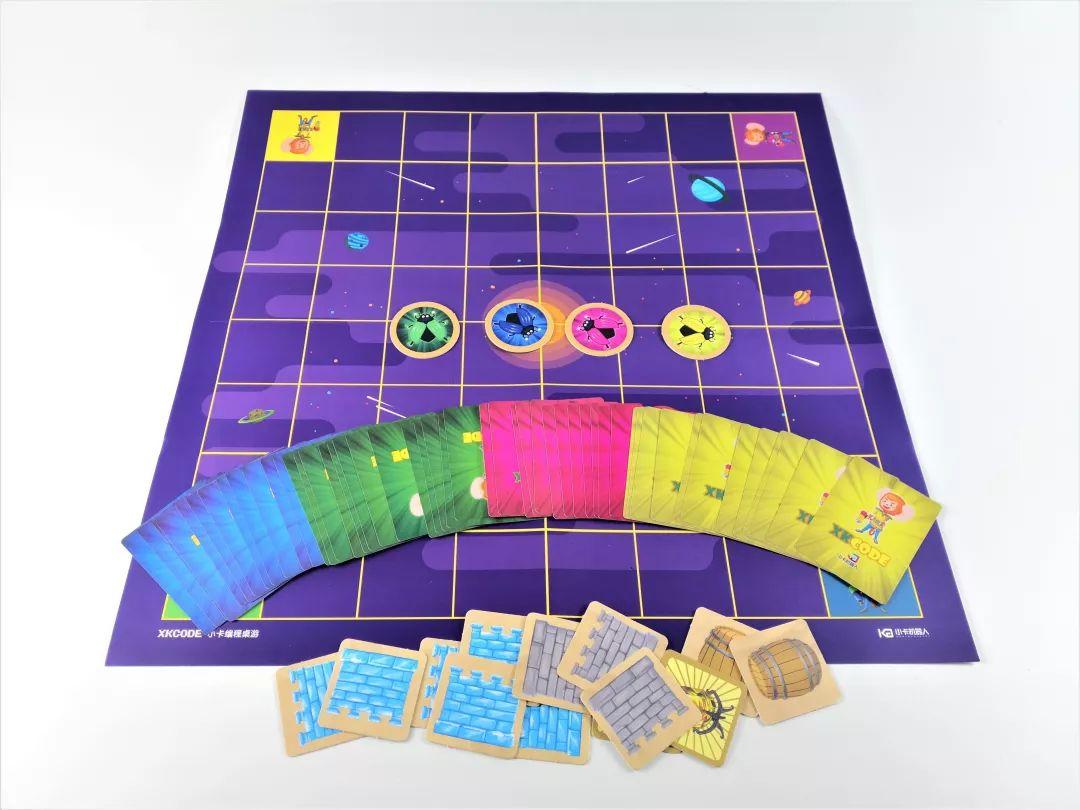 家长们夸到爆的小卡编程桌游版本升级,价格降低!让孩子远离电子游戏,还能学编程!
